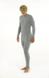 Seamless Base Layers - Long Sleeve Vest - Skinnies Viscose Adult